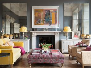 Re-working the layout at this Edinburgh pied-à-terre gave the traditional townhouse a new lease of life